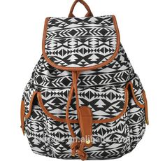 2015 moda saco de lona, Meninas mochila canvas, Yiwu Jinhua mochila escolar