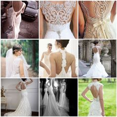 Backless Wonders: Open Back Wedding Dresses