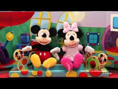 Disney's Mickey Mouse Clubhouse Interactive Plush Characters with full version of the Hot Dog Song