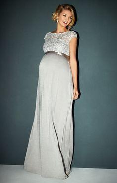 Mia Maternity Gown Silver - Maternity Wedding Dresses bf3bf21b5167