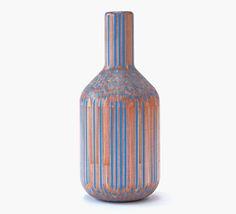 Amalgamated : Vases Constructed from Pencils by Studio Markunpoika