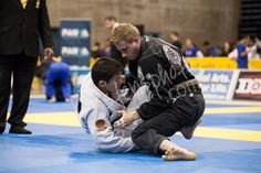 Coach Nathan Adamson doing work at the 2013 IBJJF Pan Am Championship BJJ Seaside | orbjj.com | 30 DAYS FREE!