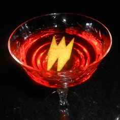 1 1/2 oz Rittenhouse 100 Rye 2/3 oz Martini & Rossi Sweet Vermouth (Cocchi) 1/2 oz Suze (Salers Gentiane Liqueur)  Stir with ice and str...