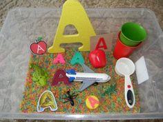 Tot School: Letter A (fruit)