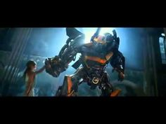 Transformers: Age of Extinction TV Spot - Bumblebee Dances - YouTube