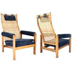 Set of Lounge Chairs by P.J. Muntendam Dutch Mid-Century Modern, 1956 1