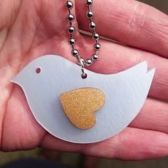 A very pretty bird keyring made at our drop-in jewellery workshop in Shoreditch with Crafty Fox Market as part of the London Design Festival. Designed, hand cut, hand cleaned and finished all within an hour and for just £10! (September 2015)