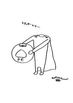 """""""とりっかーとりー"""" #kawaii #smile #gif #moon #pun #halloween いくゾ~くん いくゾ~くん いくゾ―くん いくぞ~くん いくぞ~くん いくぞーくん イクゾ~くん イクゾ~くん イクゾーくん イクゾークン イクゾ~クン イクゾ~クン ikuzokun"""