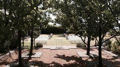 Ceremony Garden at Blue Wren Winery in Mudgee NSW.