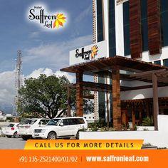 Get the best hotel room from Hotel Saffron Leaf in Dehradun Visit Us at: www.saffronleaf.com Or Call Us at: +91 135-2521400/01/02