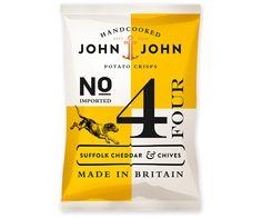 Packaging In Brief: John & JohnCrisps