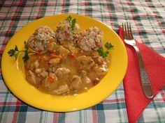 Reteta culinara Orez cu legume si tocanita de soia din categoria Mancaruri cu legume si zarzavaturi. Cum sa faci Orez cu legume si tocanita de soia Risotto, Ethnic Recipes, Food, Meal, Essen, Hoods, Meals, Eten