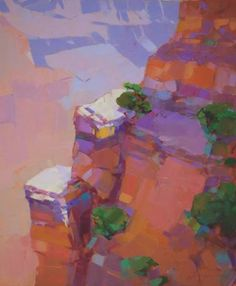 "Saatchi Art Artist Vahe Yeremyan; Painting, ""Grand Canyon Arizona Original oil Painting on Canvas Hand Painted"" #art"