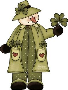 A Fun St Patricks Day Surprise for the Sandwich Generation Baby Boomers! - SandwichINK for the Sandwich Generation Christmas Love, Christmas Pictures, Christmas Crafts, Irish Rovers, Snowman Clipart, Snow Girl, Snow Man, St Patrick Day Activities, Arte Country