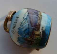 vintage Chillon Castle enameled bell http://www.ebay.com/itm/Vintage-Enamel-Brass-CHILLON-CASTLE-Swiss-Switzerland-BELL-Charm-Pendant-/321272510138?nma=true&si=Z%252B1LNh9%252B%252BO3QdV7Z0AnPZlzIql8%253D&orig_cvip=true&rt=nc&_trksid=p2047675.l2557