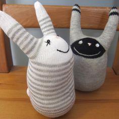 #63 - Sock Bunnies by katbaro, via Flickr