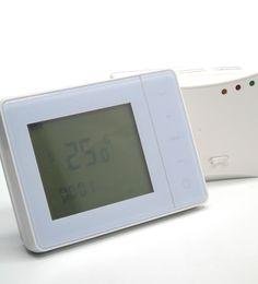 Control de frecuencia de radio inalámbrica controlador de temperatura del termostato de la caldera