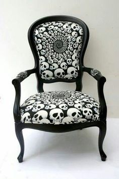 I would act like a queen in this chair