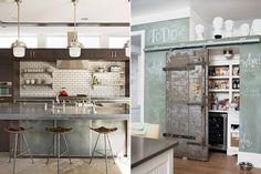 """15 Top-Notch Local Design Bloggers (And Pinners!) To Follow Now #refinery29  http://www.refinery29.com/dc-home-design-blogs#slide-14  Unclutterer Erin Doland of Unclutterer maintains a Pinterest board that gives new meaning to the term """"industrial chic."""" Expect lots of subway tiles, rough wood finishes, and clean lines. Photo: Via U..."""
