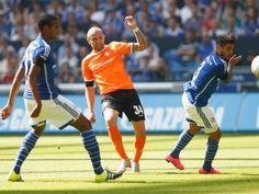 FC Schalke 04 - SV Darmstadt 98 1:1; Saison 2015/16 - Rausch trifft für Darmstadt