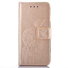 BONROY® Colorful imprimé étui en cuir PU Cuir Flip Magnétique Portefeuille Etui Housse de Protection Coque Étui Case Cover avec Stand…