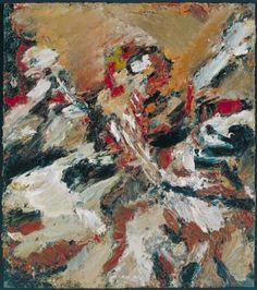 Frank Auerbach - Study after Titian I (1965)  www.artexperiencenyc.com