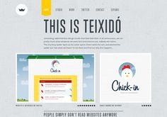Simple textures, muted colors, balanced fonts | http://teixido.co via @url2pin