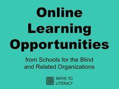 Online learning opportunities for students who are blind or visually impaired World History Teaching, World History Lessons, Middle School Counseling, School Staff, High School Hacks, School Tips, Visually Impaired Activities, Maryland School, Florida Schools