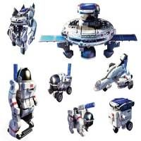POWERplus Space Explorer 7 in 1 Model Kit with Hybrid Solar Rechargeable Battery