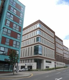 Fieger helps complete new University of Sheffield building