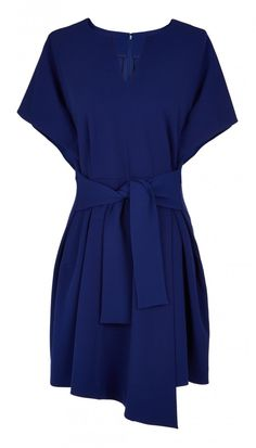 Structured Crepe Sculpted Dress - Color Play - The Weekly Edit - Features | Official Site