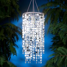 Find it at the Foundary - Indoor/Outdoor Anywhere Light - Shimmer Falls Chandelier - Silver $25.00