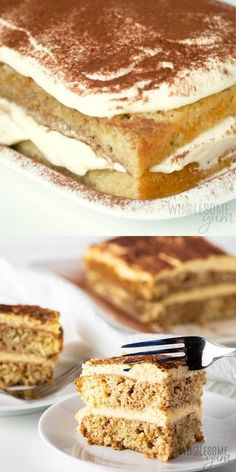 Keto Desert Recipes, Gluten Free Recipes, Low Carb Recipes, Tiramisu Dessert, Easy Tiramisu Recipe, Low Carb Deserts, Low Carb Sweets, Keto Dessert Easy, Dessert Recipes