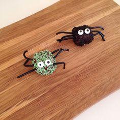 Halloween: opskrift på edderkopper og monstre