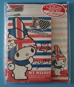 Sanrio-My-Melody-Union-Jack-UK-Flag-Letter-Sets-Brand-New-Original-Package-Japan