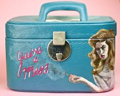 Recycled Fabric, Embroidery Applique, Suitcase, Bags, Handbags, Taschen, Suitcases, Purse, Purses