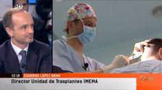 última tecnolgía en transplante capilar: Apariciones en los medios del Doctor Lopez Bran hablando sobnre el tratamiento capilar robotizado ARTAS. http://www.imema.es/trasplante-capilar-robotizado/