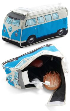 VW Bus Zipper Pouch