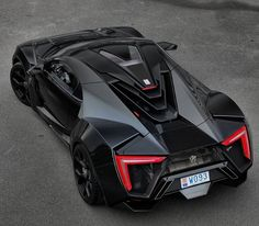 Lykan hypersport - closest thing to a real batmobile