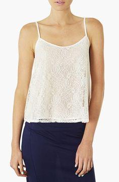 Topshop Lace Camisole