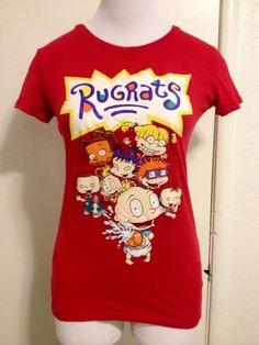 RARE! Womens Rugrats Shirt Medium #Nickelodeon #GraphicTee