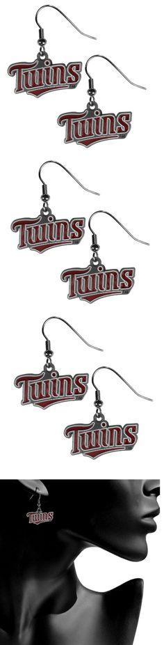 Minnesota Twins Dangle Earrings! Click The Image To Buy It Now or Tag Someone You Want To Buy This For. #MinnesotaTwins