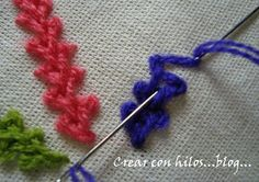 tutoriales de tejido, crochet y dos agujas, knit tutorials and crochet