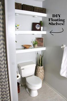 14 best shelves above toilet images home decor bathroom furniture rh pinterest com