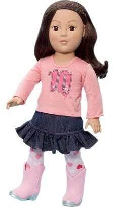 "Madame Alexander Favorite Friends - Urban Cowgirl 18"" Play Doll #51560"
