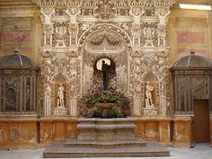 fontana all'interno di Palazzo Mirto Palermo #condominio #amministratorecondominiale www.studioragolia.it