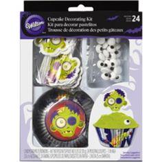 Cupcake Decorating Kit-Zombie - ValuCrafts.com