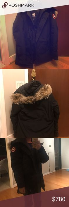 Medium Canada Goose Parka Jacket Retailed for 1100+ with tax, and I've had it for less than 6 months. Make a reasonable offer! It's in great condition and extremely warm. If you pay through venmo, I will offer a better deal since PM takes so much money off! Shipping from Washington DC Canada Goose Jackets & Coats Utility Jackets