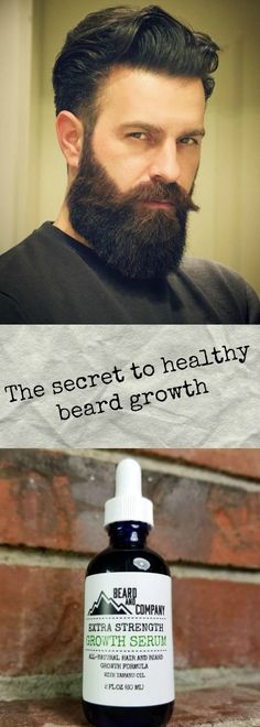 All-natural extra strength beard growth serum, proudly made in Colorado.