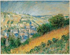 Claude Monet, Blick auf Vétheuil, 1881 © Albertina, Wien – Sammlung Batliner
